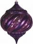 "Елочная фигура ""Лампа"", 20 см, цвет фиолетовый (4шт) Neon-Night"