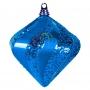 "Елочная фигура ""Алмаз"", 25 см, цвет синий Neon-Night"