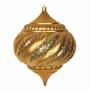 """Елочная фигура """"Лампа"""", 30 см, цвет золотой Neon-Night"""