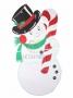 """Елочная фигура """"Снеговик в шляпе"""" 175*90 см, цвет белый Neon-Night"""