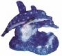 """Акриловая светодиодная фигура """"Синие дельфины"""" 65х48х48 см,136 светодиодов, IP44 понижающий трансформатор в комплекте Neon-Night"""