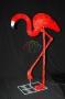 """Акриловая светодиодная фигура """"Фламинго"""" 95см, 464 светодиода, IP 44, понижающий трансформатор в комплекте Neon-Night"""