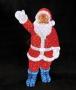 """Акриловая светодиодная фигура """"Санта Клаус"""" 120см, IP 44, понижающий трансформатор в комплекте Neon-Night"""