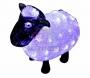 """Акриловая светодиодная фигура """"Овца"""" 30см, 56 светодиодов, IP65, 24В Neon-Night"""