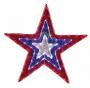 """Фигура """"Звезда"""" бархатная, с динамикой, размеры 91 см (129 светодиод) Neon-Night"""