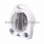 Тепловентилятор DUX 0050; 2000 Вт, термостат, цвет белый