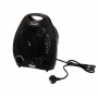 Тепловентилятор электрический DUX 0056 2000 Вт 220V черный