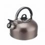 Чайник для  плит  2,5 литра из пищевой нержавеющей стали со свистком.