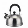 Чайник для  плит  2  литра из пищевой нержавеющей стали со свистком.