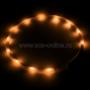 Ошейник прогулочный светодиодный MNF19 (оранжевый)
