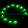 Ошейник прогулочный светодиодный MNF19 (зелёный)
