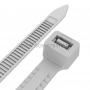 Хомут-стяжкa нейлоновая с тройным замком REXANT 200x7,5 мм, белая, упаковка 100 шт.