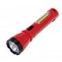 Фонарь рабочий/поисковый, головной + боковой свет 1,5 Вт + 5Вт  СОВ боковой, встроенный аккумулятор, зарядка напрямую от сети (евророзетка) 220 В