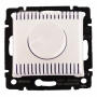 Светорегулятор поворотный 1000Вт Белый Valena