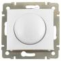 Светорегулятор поворотный 400Вт Белый Valena