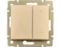 Светорегулятор 4-х кнопочный 600Вт Слоновая кость Valena