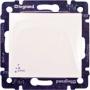 Выключатель 10A IP44 Белый Valena