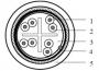 Кабель витая пара, экранированная SF/UTP, категория 6, 4 пары (23 AWG), одножильный (solid), экран - фольга + медная оплетка, с разделителем, FRNC/LSNH IEC 60332-1, -30°С - + 60°С, серый Belden