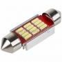 Светодиодная лампочка цоколь SV8,5 41мм. с радиатором