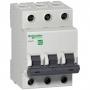 EZ9F34350 Автомат 3-полюсный 50А 4,5кА (хар-ка C) EASY 9 Schneider Electric