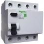 EZ9R34463 Блок утечки тока (УЗО) 4-полюс. 63A 30mA, тип АC EASY 9  Schneider Electric