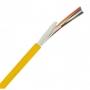 Кабель волоконно-оптический XGLO 9/125 (OS2) одномодовый, 24 волокна, tight buffer, внутренний, LSOH, -20°C - +70°C, желтый Siemon