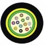 Кабель волоконно-оптический LightSystem 62.5/125 (OM1) многомодовый, 2 волокна, loose tube, внутренний/внешний, LSOH3C (IEC 60332-3), -40°C - +60°C, черный Siemon