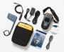 Тестер WiFi-сетей AirCheck. Комплект включает: тестер AirCheck с литий-ионным аккумулятором, кабель USB, мягкий футляр, руководство по началу работы, компакт-диски с программным обеспечением AirCheck Manager и руководством пользователя AirCheck