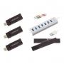 Набор из 3х USB адаптеров D1080 802.11a/b/g/n/ac и USB хаба, для AirMagnet Wi-Fi Analyzer