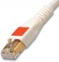 Патч-корд UTP, категория 6, RJ45-RJ45, T568A/B, CMG, 1 м, белый Siemon