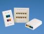 Белая наклейка из полиолефина для 1 порта Mini-Com®™, размеры: 7.62мм х 15.49мм PANDUIT