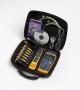 Комплект CableIQ Advanced IT Kit: включает кабельный тестер CableIQ, шесть Remote Identifiers, тональный щуп Intellitone Probe 200, дополнительные шнуры и адаптеры, жесткий кейс