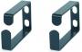 Кольцо организационное для укладки кабеля 70х43 мм, металлическое Hyperline