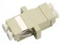 Проходной соединитель LC-LC duplex, MM(для многомод. каб.), корпус пласт. (SC Adapter Simplex dimension)