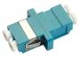 Проходной соединитель LC-LC duplex, SM(для одномод. каб.), корпус пласт. (SC Adapter Simplex dimension)