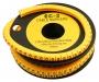 Маркер для кабеля д.7.4мм, цифра 0