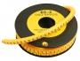 Маркер для кабеля д.7.4мм, цифра 3