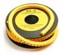 Маркер для кабеля д.7.4мм, цифра 4
