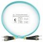 Шнур оптический duplex FC-ST 50/125 mm OM3 1м LSZH
