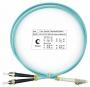 Шнур оптический duplex LC-ST 50/125 mm OM3 1м LSZH