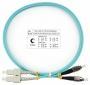 Шнур оптический duplex SC-FC 50/125 mm OM3 1м LSZH