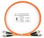 Шнур оптический duplex FC-FC 62,5/125 mm 1м LSZH