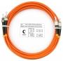 Шнур оптический duplex FC-ST 62,5/125 mm 1,5м LSZH