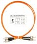 Шнур оптический duplex FC-ST 62,5/125 mm 1м LSZH