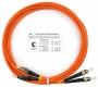 Шнур оптический duplex FC-ST 62,5/125 mm 3м LSZH