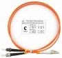 Шнур оптический duplex LC-ST 62,5/125 mm 1м LSZH