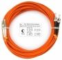Шнур оптический duplex LC-ST 62,5/125 mm 25м LSZH