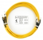 Шнур оптический duplex FC-ST 9/125 sm 5м LSZH