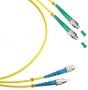 Шнур оптический duplex FC/APC-FC/UPC 9/125 sm 1м LSZH