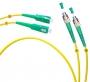 Шнур оптический duplex FC/APC-SC/APC 9/125 sm 1м LSZH